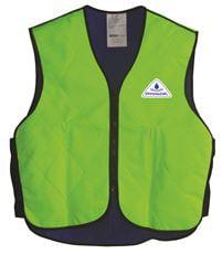 Hyperkewl Evaporative Sport Cooling Vest, Hi-Viz Lime, Medium