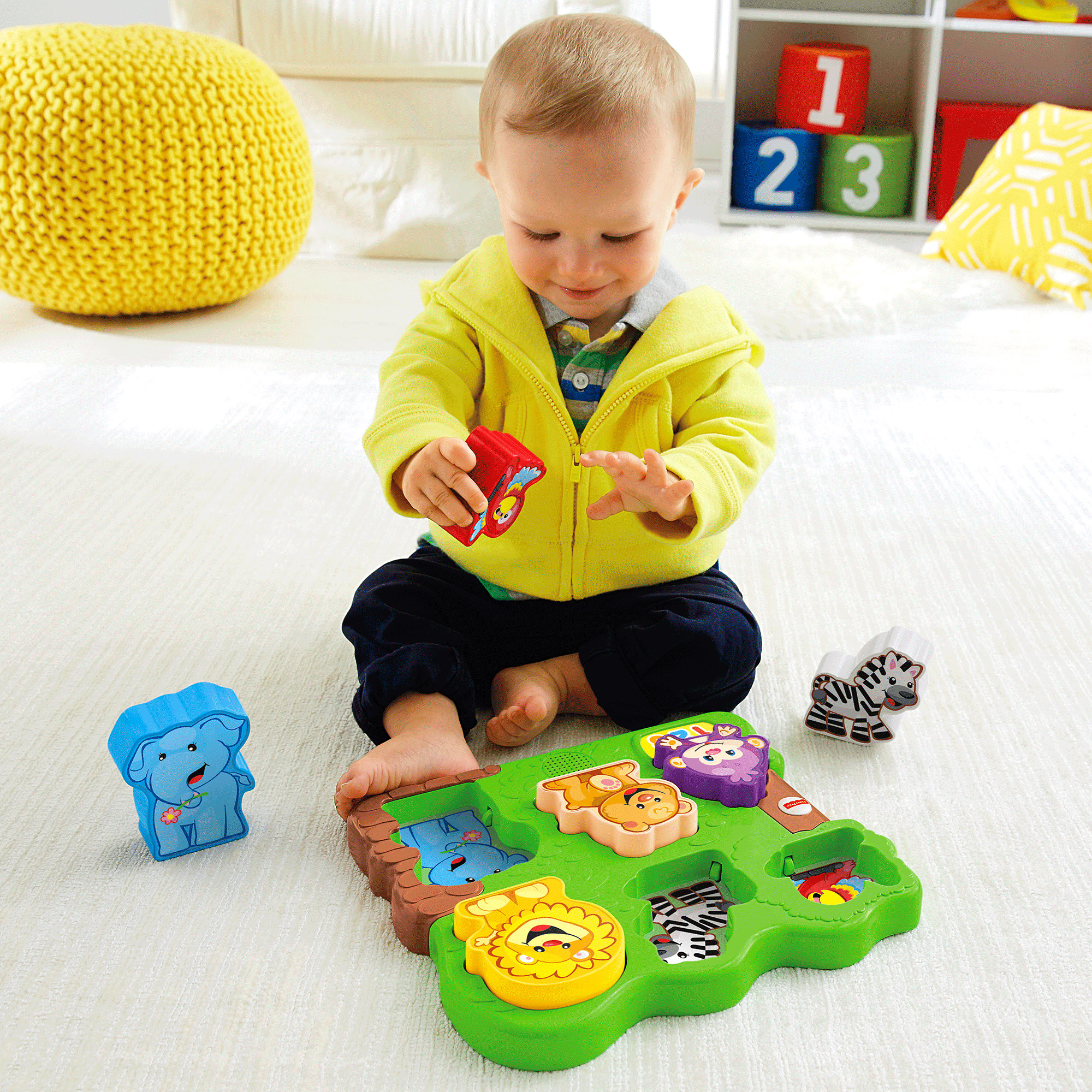 Fisher Price Laugh & Learn Zoo Animal Puzzle by Fisher-Price