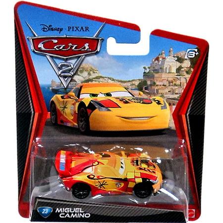 Disney Cars Cars 2 Main Series Miguel Camino 1 55 Diecast Car