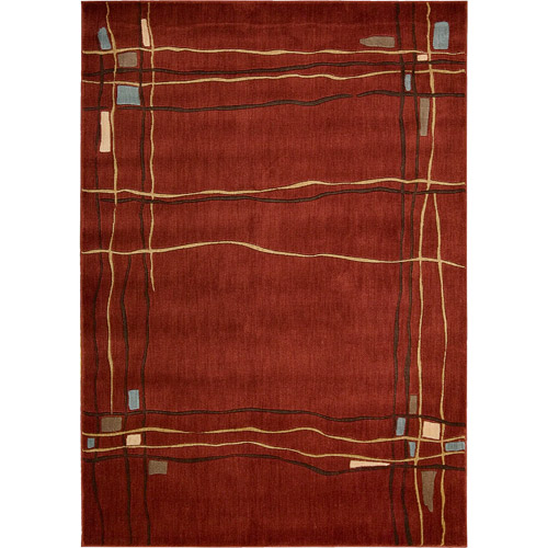 Nourison Manor Park Contemporary Ribbons Rug