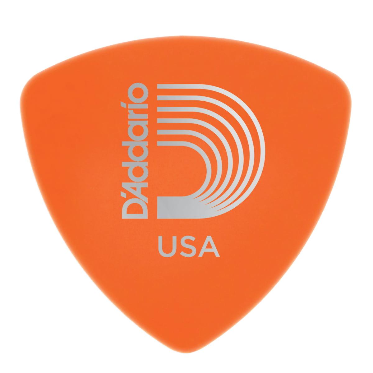 Planet Waves Duralin Guitar Picks, Light, 10 pack, Wide Shape by