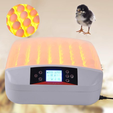 Ktaxon Automatic 56 Eggs Hatching Incubator with Egg Candler LED Light 110V for Chicken