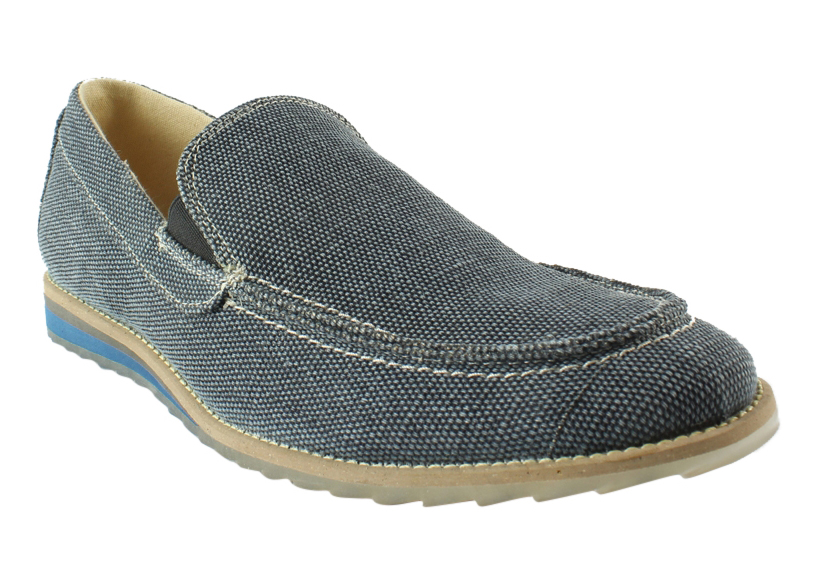GBX Mens Blue Loafers & Slip Ons Casual Shoes Size 7.5 New by GBX
