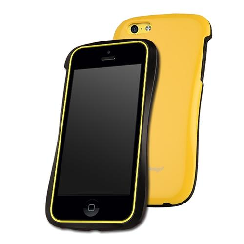 DRACO Yellow Allure Snap-On Hard Case For Apple iPhone 5C