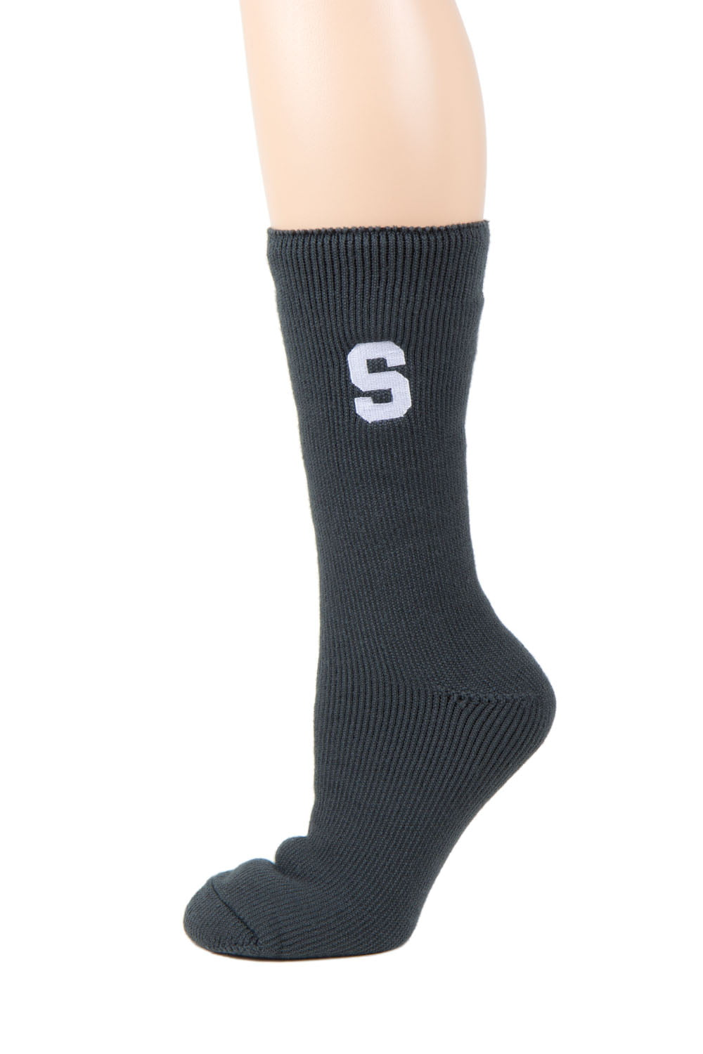 Michigan State Spartans Gray Thermal Sock by Donegal Bay