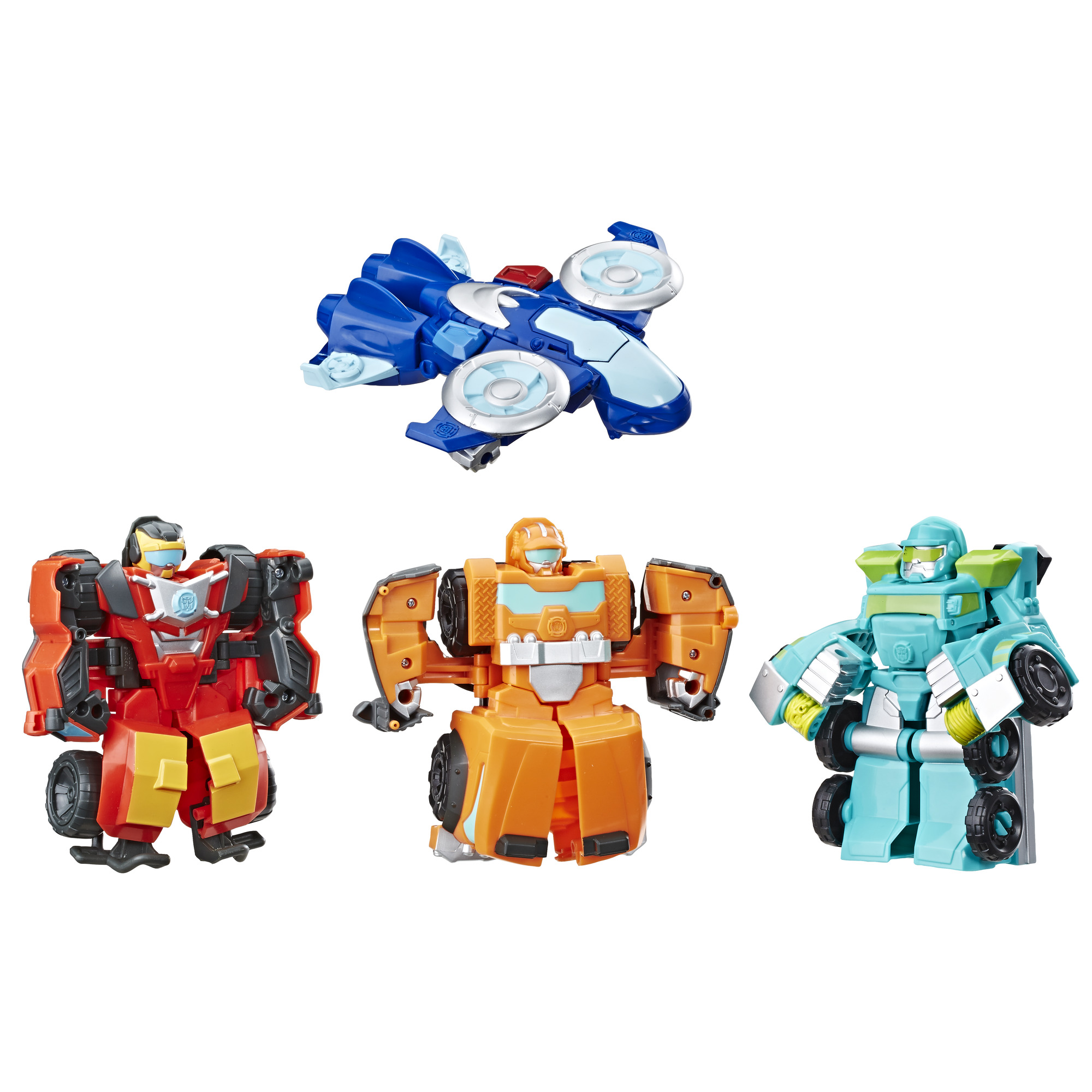Playskool Heroes Transformers.
