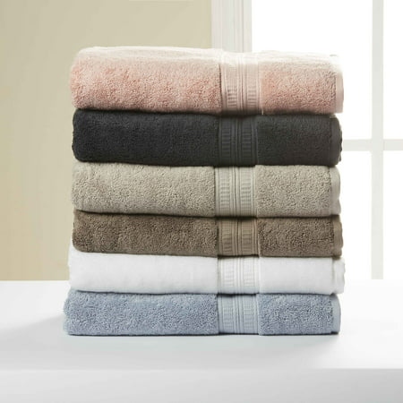 - Hotel Style 100% Pima Cotton Bath Towel Collection with Air Rich Technology