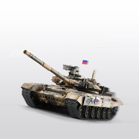 Zerone 1/16 Upgraded Metal Military Army T90 RC Tank Model Tracks Sprockets 3938, Remote Control Model Tank, RC Tank Toy ()
