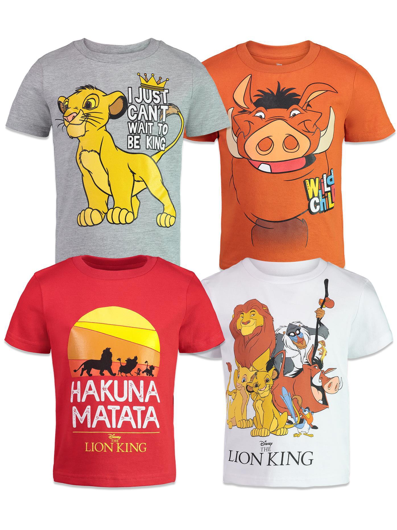 Disney Store Lion King Costume T Shirt Tee Girls Size 14 Simba Nala Pumbaa Timon
