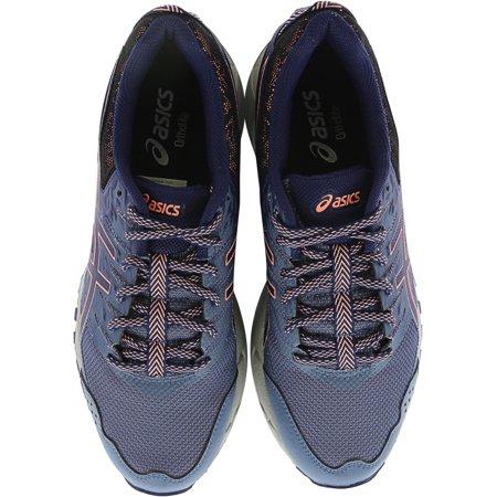 Asics Women's Gel Sonoma 3 Smoke Blue Indigo Begonia Pink Ankle High Running Shoe 8.5M