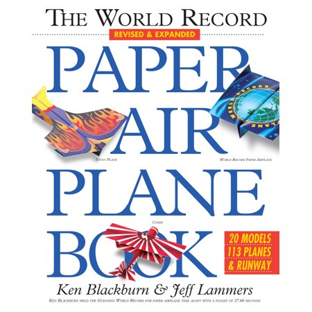 World Record Paper Airplane Book - Paperback](Paper Airplane Contest)