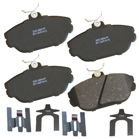 Go-Parts OE Replacement for 1994-2002 Ford Taurus Front Disc Brake Pad Set for Ford Taurus (Base / G / GL / LX / SE / SE Comfort / SHO)