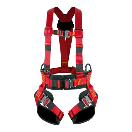 Black Diamond Climbing Harness (Fusion Climb Skylux Full Body Adjustable Bungee Harness 23kN M-L)