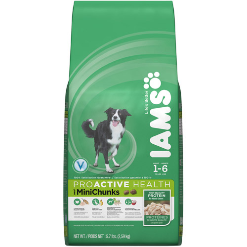 Iams ProActive Health Adult MiniChunks Premium Dog Food 5.7 lbs