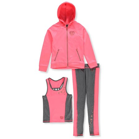Body Glove Girls' 3-Piece Leggings Set