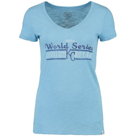 Kansas City Royals '47 Women's 2014 World Series Bound T-Shirt - Light Blue City Lights Series