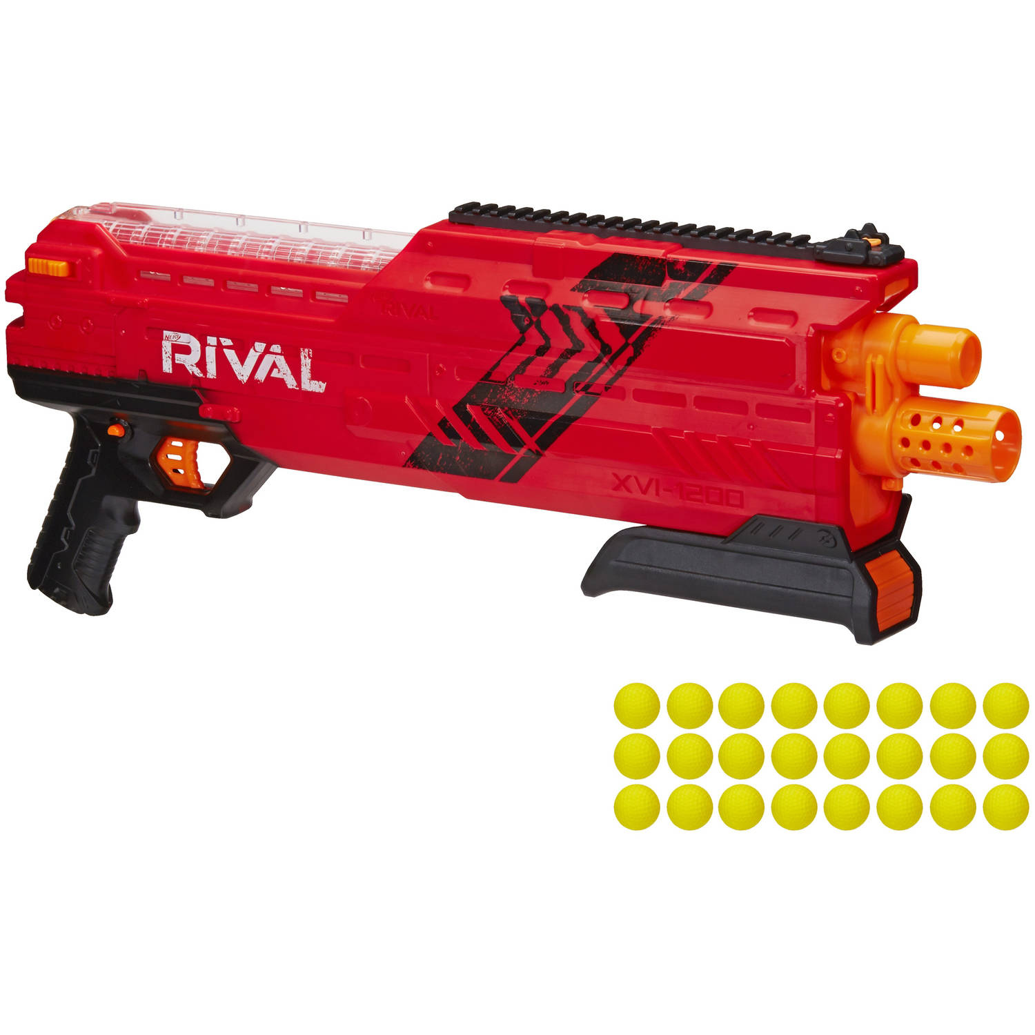 Nerf Rival Atlas XVI-1200 Blaster (Red) by Hasbro