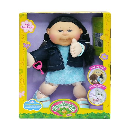14 inch doll trendy fashion every cabbage patch kid comes with adoption papers from babyland. Black Bedroom Furniture Sets. Home Design Ideas