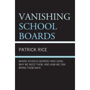 Vanishing School Boards - eBook