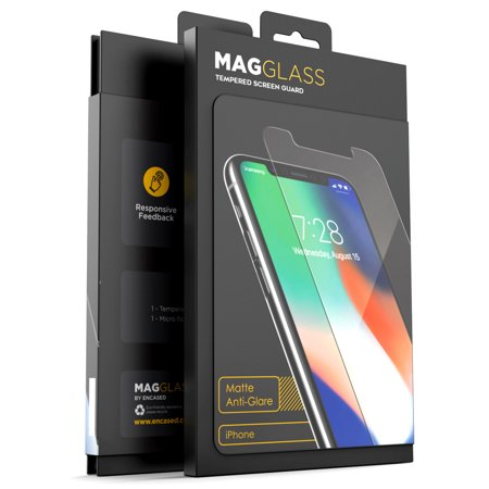 iPhone XR Matte Tempered Glass Screen Protector, Magglass Anti Glare