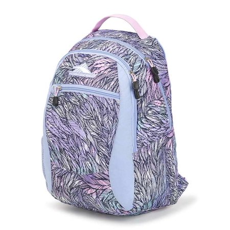 High Sierra Curve Daypack Backpack FEATH.SPECTRE/PWDBLUE/ICED LIL