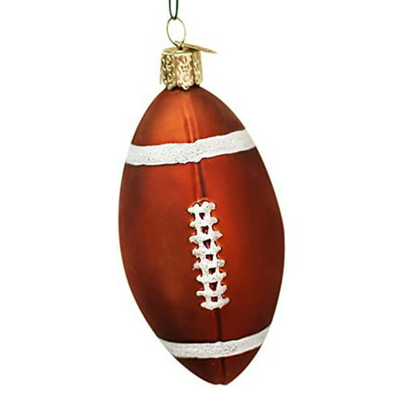 Old World Christmas Football Glass Blown Ornament - Football Christmas Ornaments