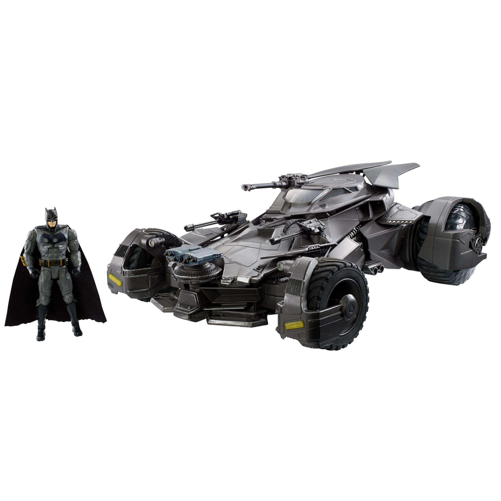"""DC Justice League Ultimate Batmobile Vehicle + 6"""" Figure"""