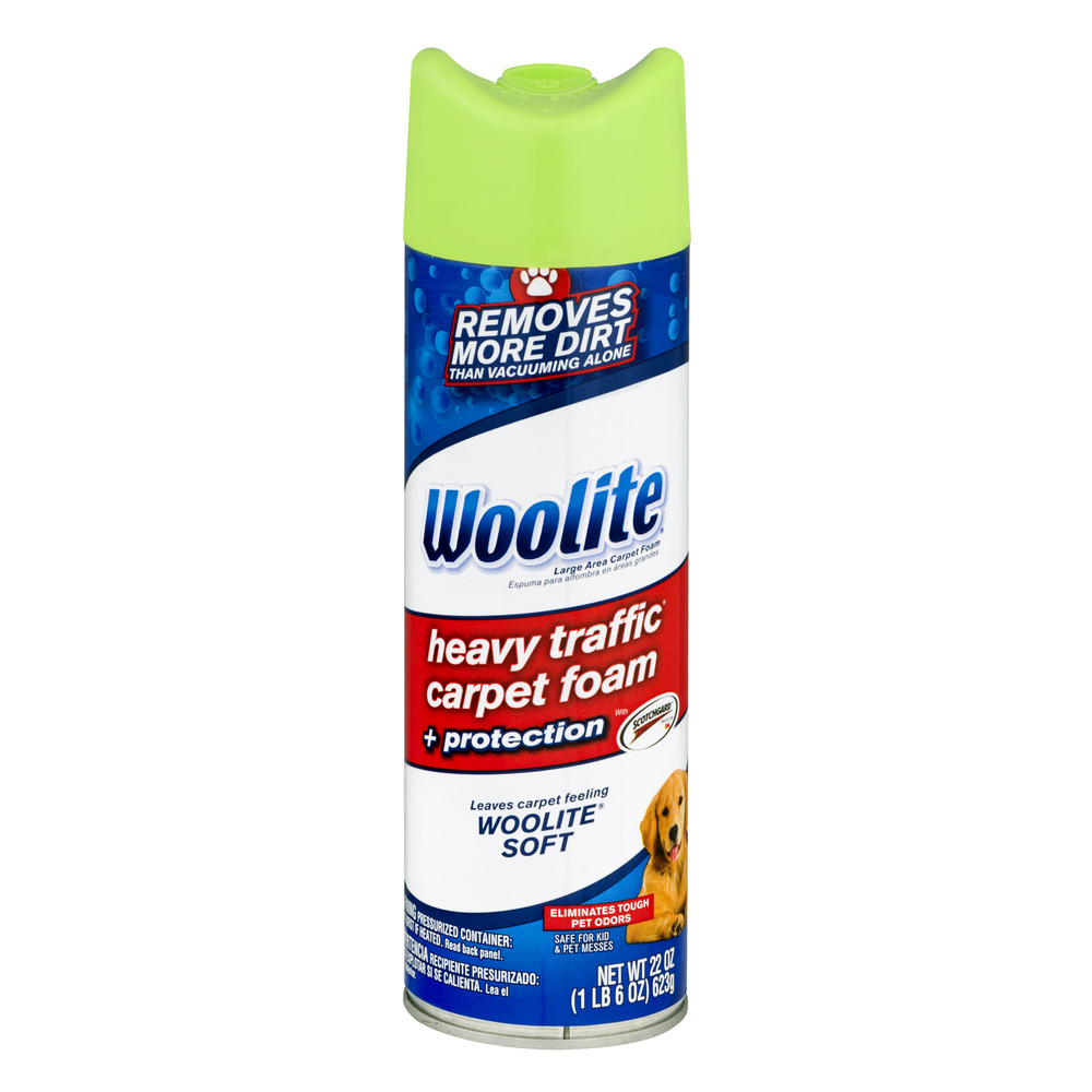 Woolite Heavy Traffic Carpet Foam, 22.0 OZ