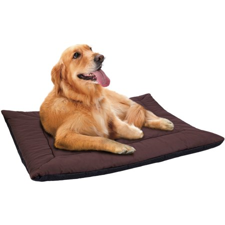 Self Warming Pet Heating Pad , Cat , Dog Bed , Brown , 37-in