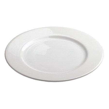 Revol French Classiques White Porcelain 11.75 Inch Alaska Dinner Plate
