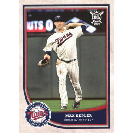 2018 Topps Big League #26 Max Kepler Minnesota Twins Baseball Card - *GOTBASEBALLCARDS (Topps Minnesota Twins Baseball Cards)
