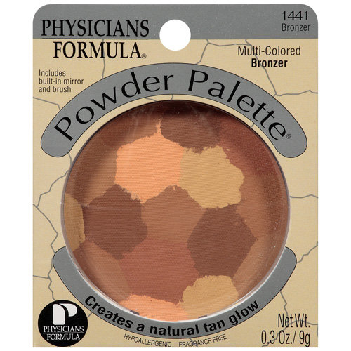 Physicians Formula Multi-Colored Powder Palette, Bronzer 1441