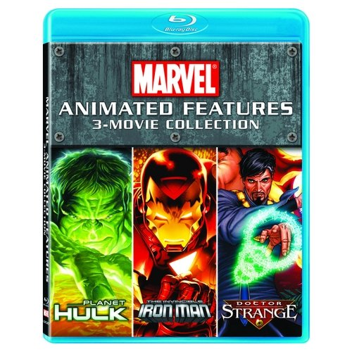 Marvel Animated Features 3-Movie Collection: Planet Hulk / The Invincible Iron Man / Doctor Strange (Blu-ray) (Full Frame)