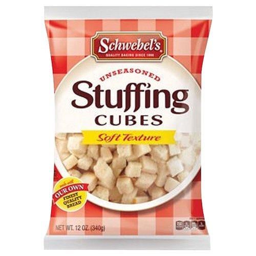 Schwebel's Unseasoned Stuffing Cubes, 12 oz