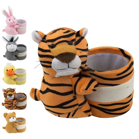 Eyeglass Holder Glasses Stand with Cute Plush Animal Character Design, Tiger, By OptiPlix - Other Glass Stand