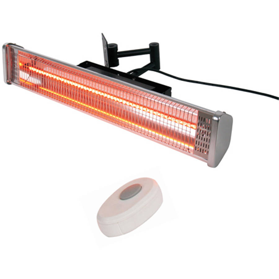 Hiland Wall Mounted Electric Patio Heater With Remote