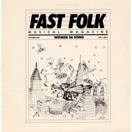 - Fast Folk Musical Magazine (8) Women in 1 / Various
