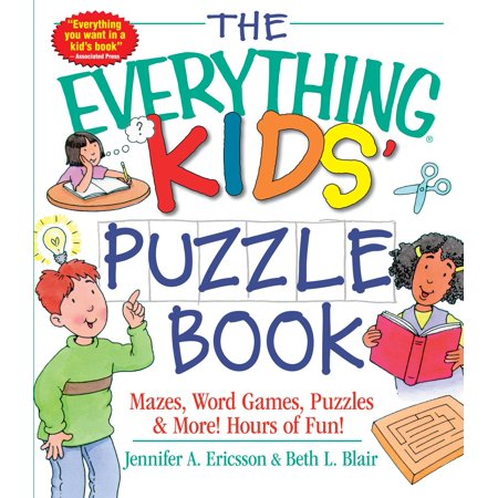 The Everything Kids' Puzzle Book (The Puzzle Place Vhs)