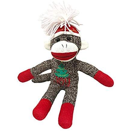 Holiday Season Sock Monkey