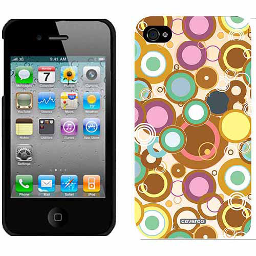 Circle Trip Multicolor Design on Apple iPhone 4/4s Thinshield Snap-On Case by Coveroo