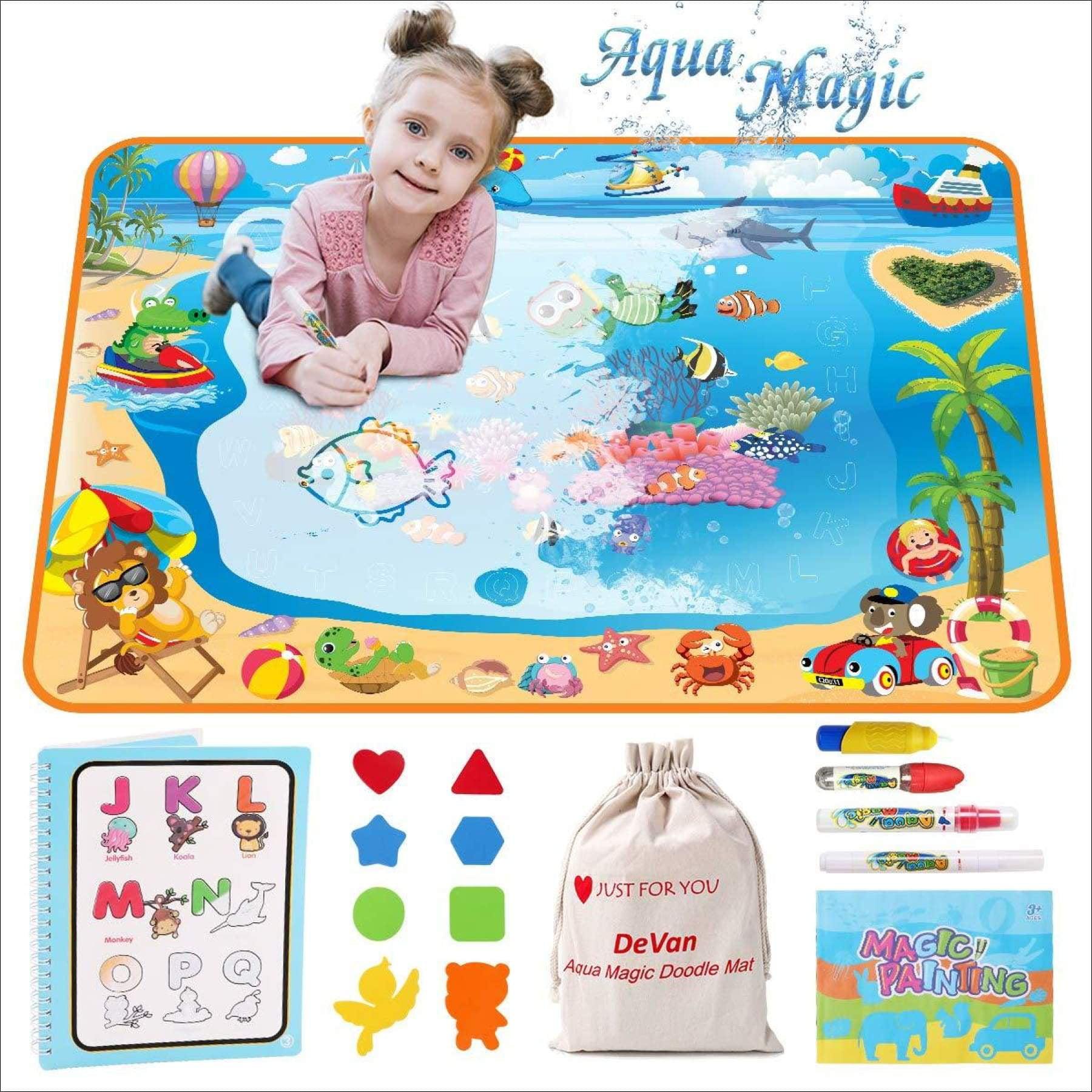 Aqua Magic Mat, Water Drawing Mat for Kids-Color Large ...