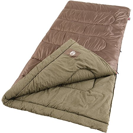 Coleman Oak Point Big And Tall Cool 30  To 50 Degree Adult Sleeping Bag
