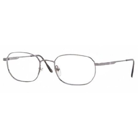 Brooks Brothers BB 222 Eyeglasses Styles Gunmetal Frame w/Non-Rx 52 mm Diameter Lenses,