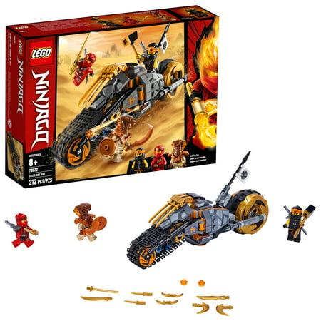 LEGO Ninjago Cole's Dirt Bike 70672 Dirt Bike Toy Building Kit (212 Pieces)