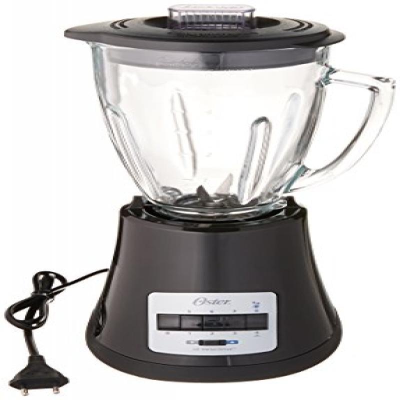Oster BLSTMG Black 8 Speed 6-Cup Glass Jar Blender, 220 V...