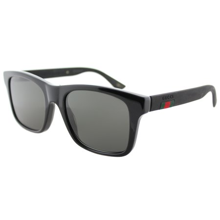 Gucci GG0008S 002 Unisex Square Sunglasses