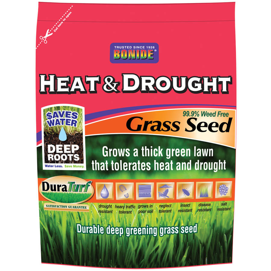 Bonide 60257 20 Lb Heat and Drought Grass Seed
