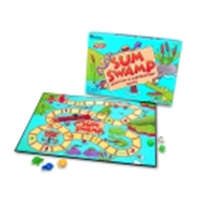 Learning Resources Sum Swamp Addition And Subtraction Math Game