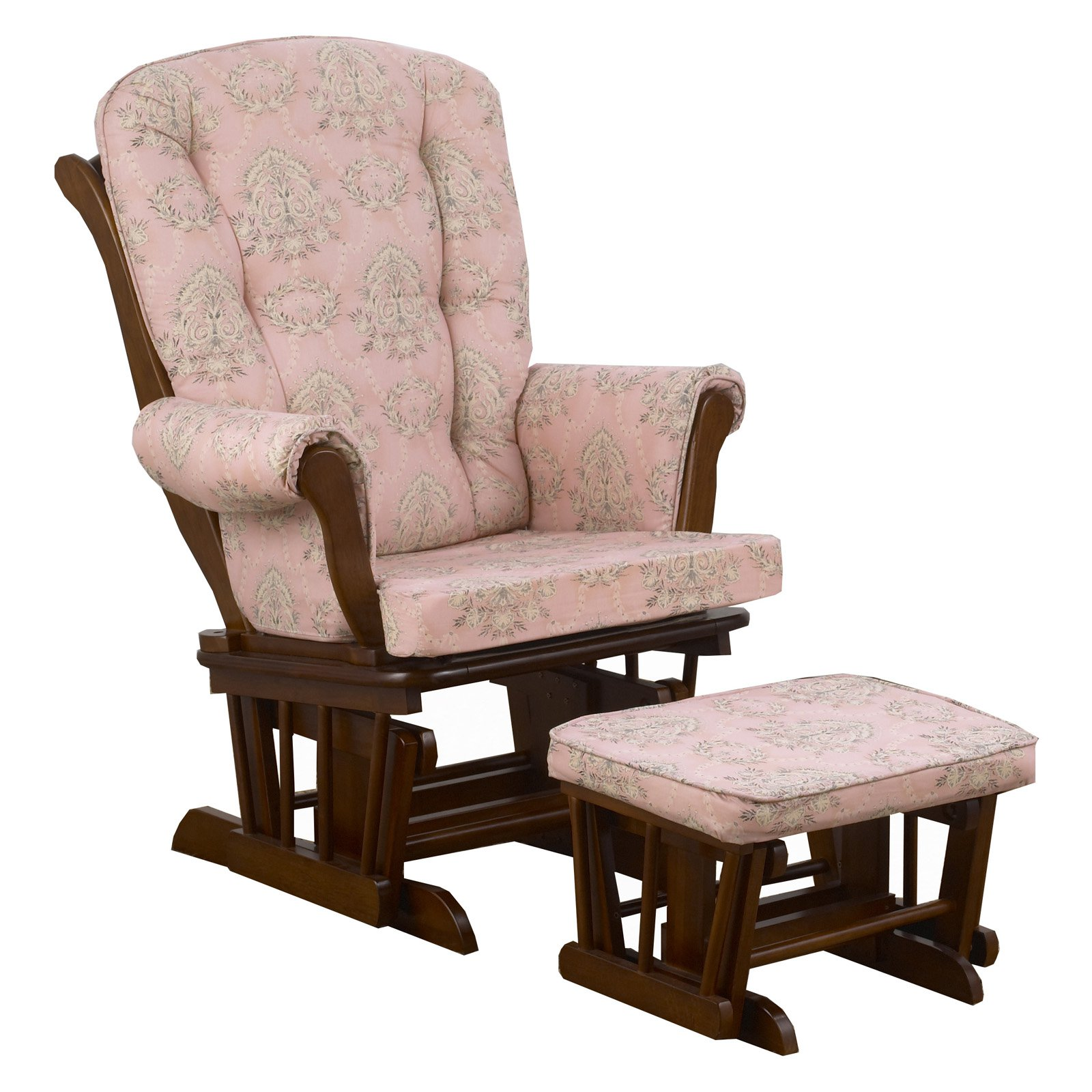 Cotton Tale Nightingale Floral Glider with Ottoman