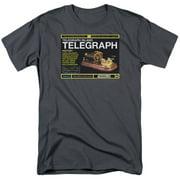 Warehouse 13 - Telegraph Island - Short Sleeve Shirt - Small